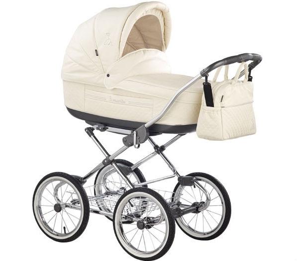 Классическая коляска для новорожденного