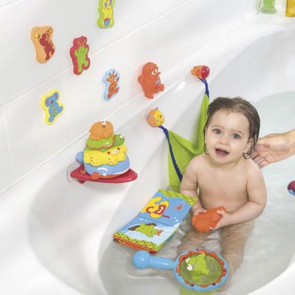 Наклейки на ванне для ребенка