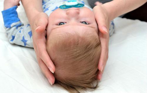 Головка новорожденного