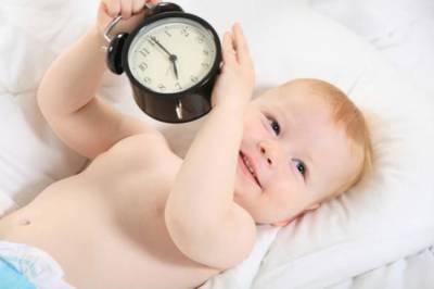 Малыш с часами