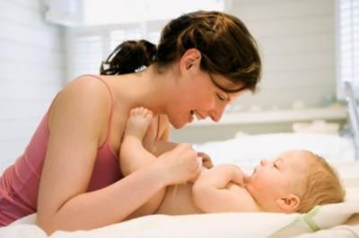 Гимнастика для новорожденного