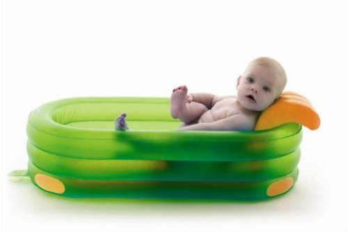 Надувная детская ванночка