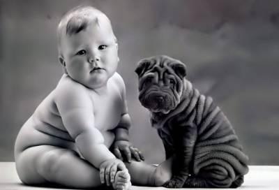 Пухленький ребенок