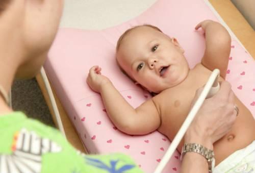 УЗИ у грудного ребенка