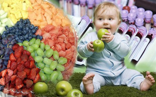 Фрукты в рационе младенца