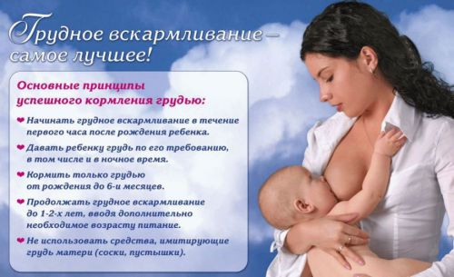 Преимущества грудного молока