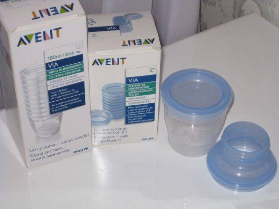Контейнеры для грудного молока Philips AVENT