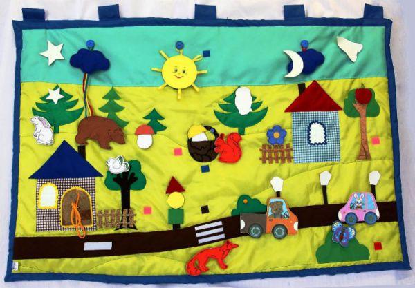 Сенсорный коврик для ребенка