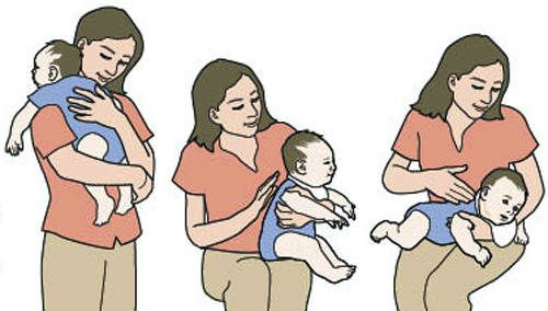 Действия при икоте у младенца