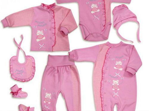 Предметы одежды для младенца