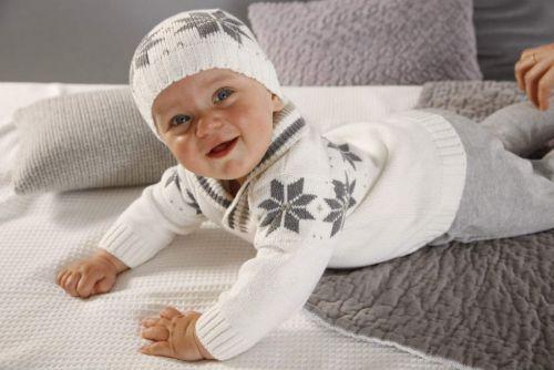 Зимний костюмчик для новорожденного
