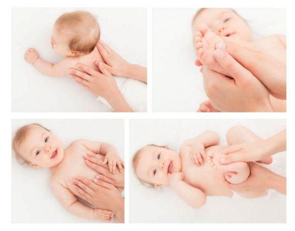 Массаж для ребенка до 3 месяцев