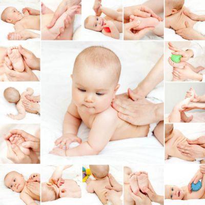 Массаж для детей 3-4 месяцев
