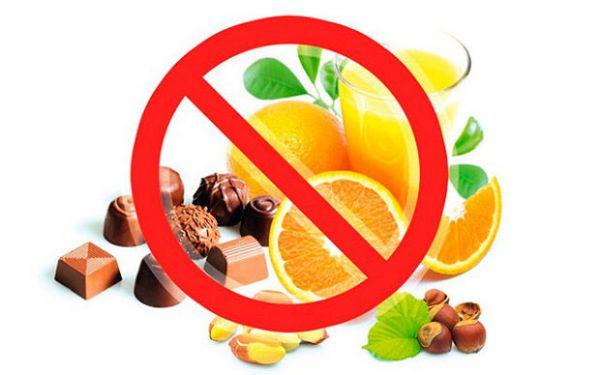 Запрещенные продукты при лактации