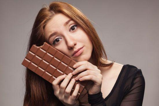 Отказ от шоколада при грудном вскармливании