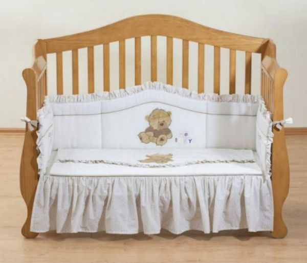 Постельный комплект для новорожденного