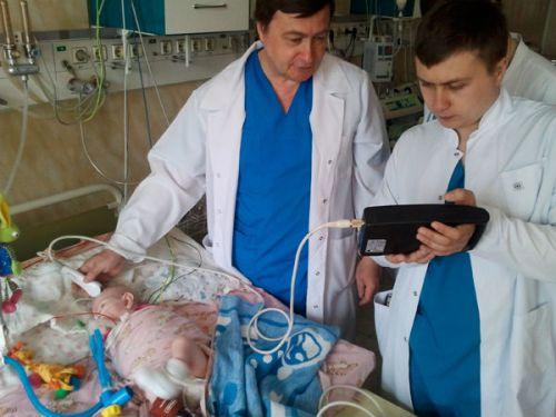 Нейросонография у новорожденного ребенка