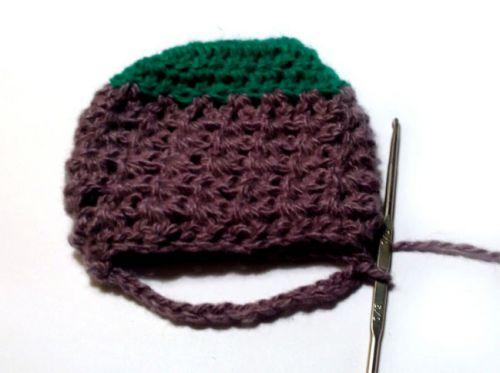 Вязание детского носочка