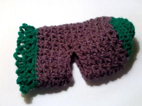Вязание носков для младенца