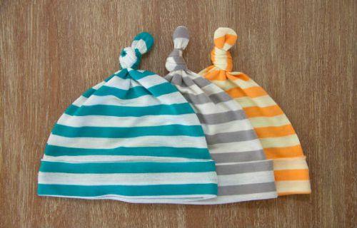 Летние шапочки для младенцев