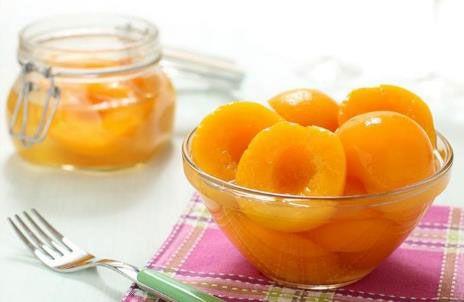 Персики, заготовленные на зиму
