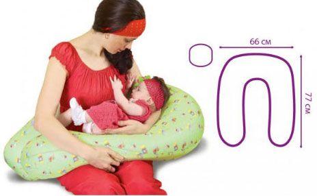 Чертеж подушки для беременных