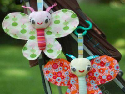 Погремушка-бабочка