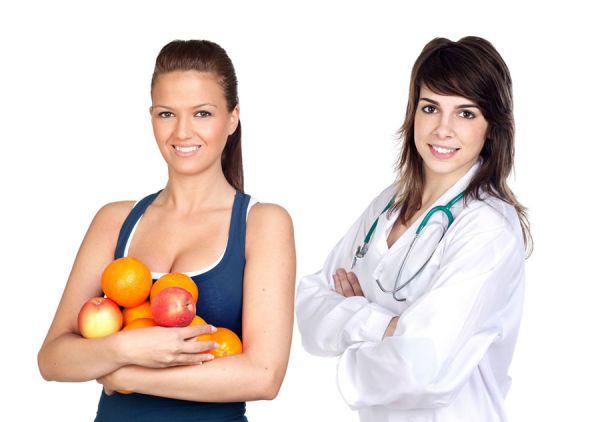 Похудение под контролем диетолога