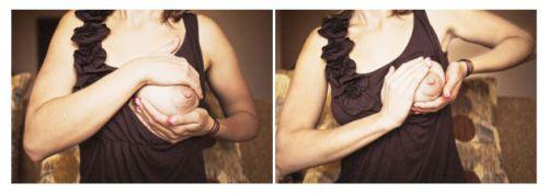 Массирование груди