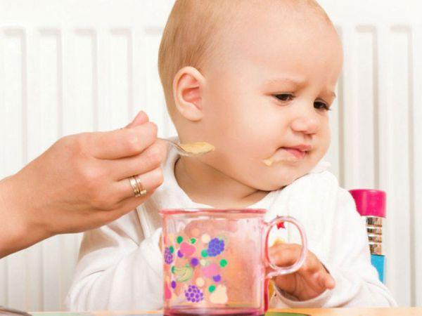 Ребенок отказывается от прикорма