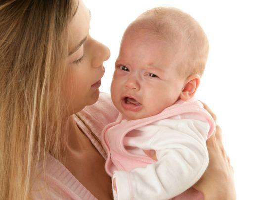 Младенец капризничает