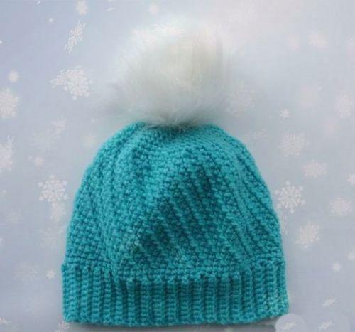 Теплая шапочка для младенца
