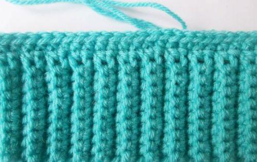 Вязание основной части шапочки