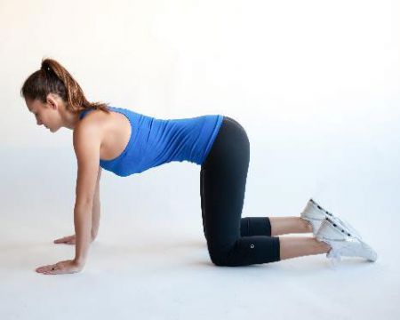 Выполнение упражнения