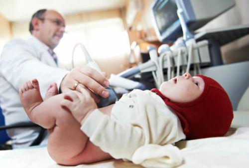 УЗИ брюшной полости новрожденного