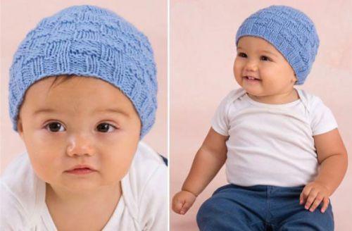 vjaz-shapochki-nov-16-500x328 Шапочка для новорожденного спицами, 25 моделей с описанием и видео уроками, Вязание для детей