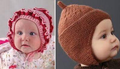 vjaz-shapochki-nov-2-400x230 Шапочка для новорожденного спицами, 25 моделей с описанием и видео уроками, Вязание для детей