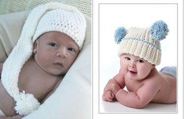 vjaz-shapochki-nov-3-372x240 Шапочка для новорожденного спицами, 25 моделей с описанием и видео уроками, Вязание для детей