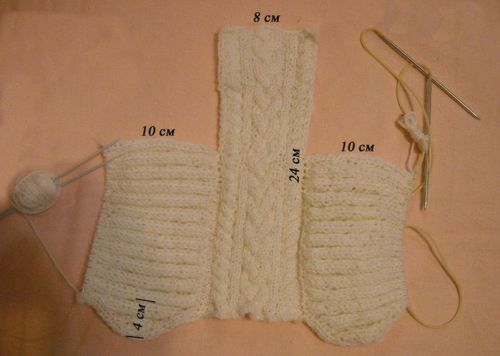 vjaz-shapochki-nov-8_1-500x356 Шапочка для новорожденного спицами, 25 моделей с описанием и видео уроками, Вязание для детей