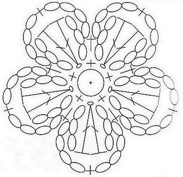 Схема вязания 3
