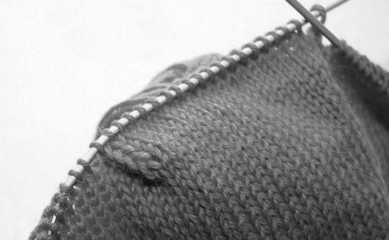 Вязание затылочка