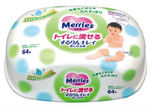 Детские салфетки Merries