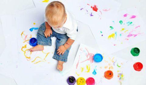 Безопасные краски для детей