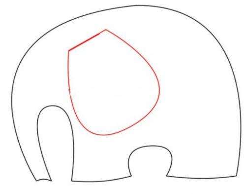 Выкройка подушек-слоников