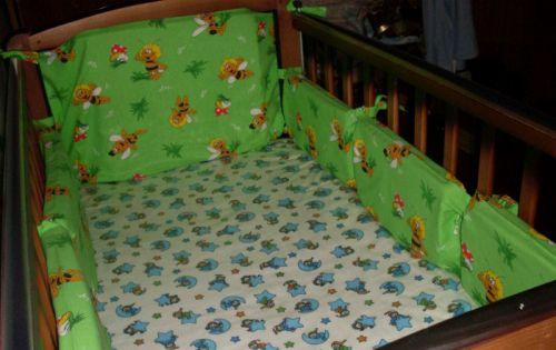 Простые бортики-подушки