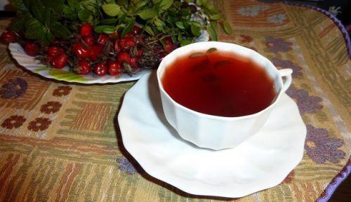 Чай с брусничными листьями