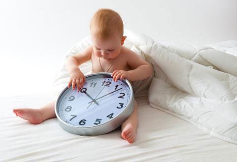 Кормление младенца по часам