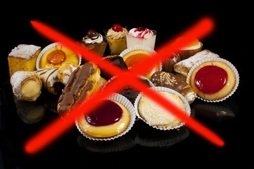 Запрет сладостей
