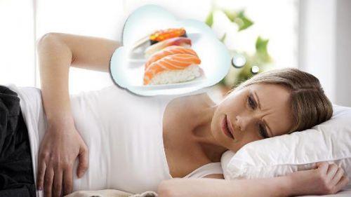 Пищевое отравление у женщины