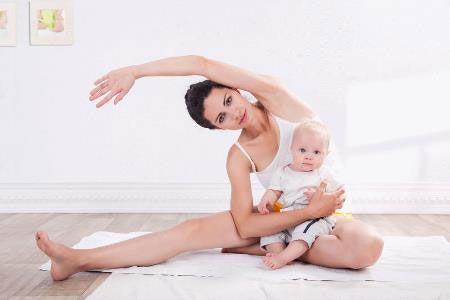 Гимнастика кормящей мамы